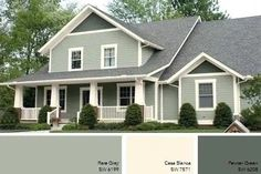 exterior house paint designs collection idea for old suitcase house colors exterior colors and color paints interiors and sources editorial calendar 2018 Exterior Paint Combinations, Exterior Paint Schemes, Best Exterior Paint, Exterior Paint Colors For House, Exterior Siding, Paint Colors For Home, Exterior Colors, Exterior Design, Paint Colours