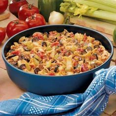 Mexican Skillet Supper...great cooked in a dutch oven or cast iron skillet!