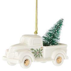 Holiday Truck with Christmas Tree | Lenox Christmas Ornament