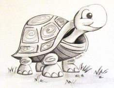 When In Doubt Draw A Cute Turtle The Doodle Delicatessen