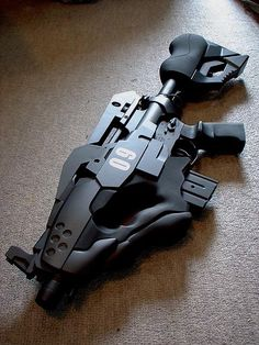 such a cool custom rifle
