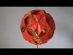 This hong bao flower ball is ideal for decoration in the house during the Lunar New Year! For more of Chinese New Year craft tutorials please follow the link...