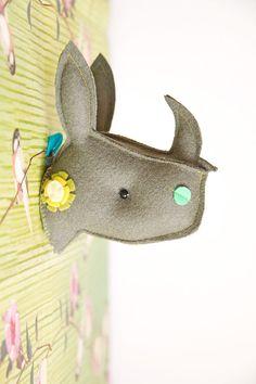 Rhino head #children #home