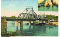 Tarjeta Postal Sevilla Puente Alfonso XIII facsimil (CF-649) | eBay
