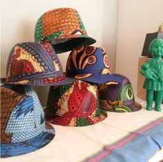 We love these African print hats. What do you guys think of them? Would you wear it?