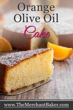 Orange Olive Oil Cak