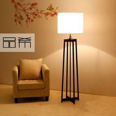 Chinês moderno minimalista sala de estar quarto lâmpada de chão abajur lâmpada…