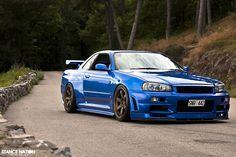 Nissan Skyline GTR R34 http://amzn.to/2tNZNTY