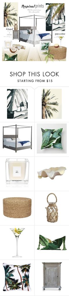 """""""Tropical Prints"""" by rever-de-paris ❤ liked on Polyvore featuring interior, interiors, interior design, home, home decor, interior decorating, Givenchy, Pier 1 Imports, LSA International and CFC"""