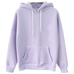 Cute Harajuku Pastel Lavender Hoodies Sweatshirts for Womens at Amazon... ($21) ❤ liked on Polyvore featuring tops, hoodies, sweatshirts, hoodies sweatshirts, sweatshirt hoodies, purple top, purple sweatshirt and lavender top