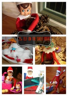 It is about that time of the year again --- time for your ELVES to make a return visit!  If you want to have more fun with this little guy or gal this year you will want to click over to check out this list of the TOP 25 ELF ON THE SHELF ideas!  I promise you that your kids will love these!!!