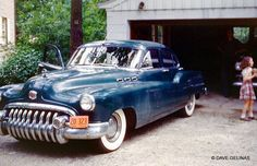 vintage everyday: 1950s American Automobile Culture – 50 Color Photos of Classic Buicks on the Street in the 1950s