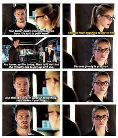 Arrow - Oliver and Felicity #3.5