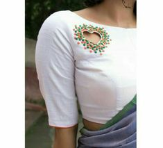 - Story Details Type: Padded Fabric: Cotton Wash care: Dry wash Sleeves: Elbow length sleeves Neckline : Boat neck Description… Source by - Saree Blouse Neck Designs, Designer Blouse Patterns, Dress Neck Designs, Kurti Neck Designs, Fancy Blouse Designs, Latest Blouse Neck Designs, Blouse Neck Patterns, Choli Blouse Design, Sleeves Designs For Dresses