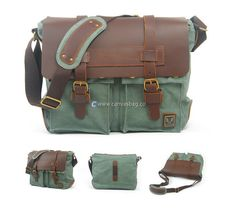 canvas messenger bags messenger bags for school (12)