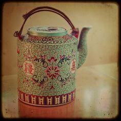 Vintage Chinese teapot