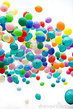 Balloons by Dmitri Izosimov, via Dreamstime