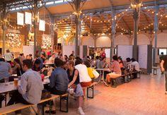 Le Carreau du Temple accueille la street food parisienne #streetfood #paris #blog