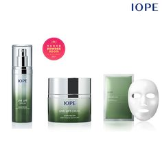 NEW IOPE Live Lift Serum Cream Mask Set Amore Pacific Korean cosmetics HIT Item #IOPE #livelift #iopenew  #newiope #koreanbeauty #maskpack #serum #cosmetics #cream #essence #iopeliveliftserum