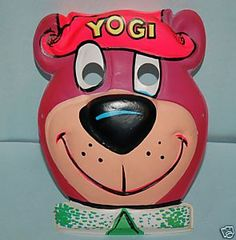 Yogi Bear Halloween Mask