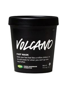 6 Spa-Like Body Masks That'll Transform Dull, Dry Skin: Lush Volcano Foot Mask | allure.com