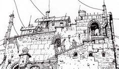 Ian McQue — Illustrator's Lounge