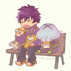This is so cute! >////< | Leo & Nej #Kekkai Sensen