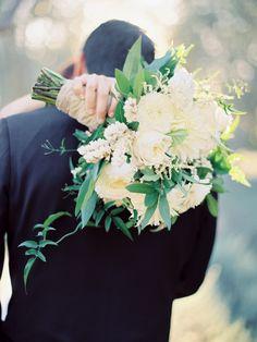 Photography: Ashley Kelemen - ashleykelemen.com Floral Design: Sweet Marie Designs - sweetmariedesigns.com/   Read More on SMP: http://www.stylemepretty.com/2015/02/16/elegant-fall-san-ysidro-wedding/