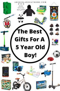 This gift guide has all the best ideas for presents for your little boy! Perfect gift ideas for a 5 year old for a birthday party, Christmas, Easter Basket, or any other holiday. Great for any boy! Lego Birthday Party, Birthday Gifts For Boys, Boy Birthday, Boys Easter Basket, Easter Baskets, Boy Party Favors, 5 Year Olds, Old Boys, Easy Gifts