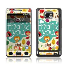"""Thank you"" Doming SmartphoneCover - Samsung S2 www.cushyskins.com Samsung S2, Smartphone, Phone Cases, Phone Case"