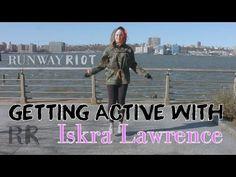 Iskra Lawrence Workout VIDEO   RunwayRiot