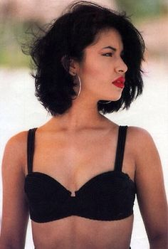 Selena Quintanilla ... I saw the movie about her life probably hundred times .... I guess it infuenced me a lot ... Amazing singer :)