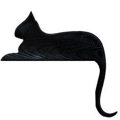 Cat Rester Door Topper Silhouette