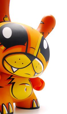 Kidrobot Dunny Tiger by artoyzflickr, via Flickr