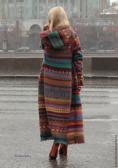 New crochet sweater coat long cardigan ideas Crochet Coat, Crochet Jacket, Knitted Coat, Crochet Cardigan, Long Cardigan, Crochet Clothes, Cable Cardigan, Sweater Coats, Sweaters
