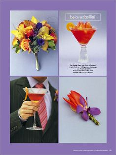 Orange, Yellow and Purple are the best for Garden Themed Wedding parties