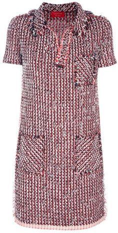 LANVIN Tweed Dress
