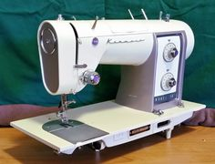 Here's one of Kenmore's prettiest sewing machines, ever! It's a Kenmore 540.
