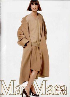 Max Mara camel hair coat 1990s