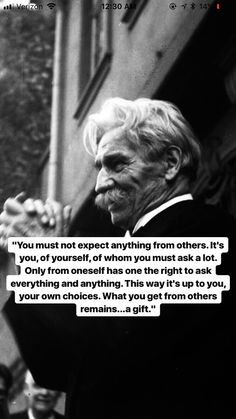 Need nothing from others- Albert Schweitzer Quotable Quotes, Wisdom Quotes, Quotes To Live By, Me Quotes, Motivational Quotes, Inspirational Quotes, Poetry Quotes, Beautiful Words, Mantra