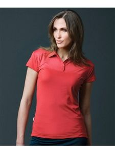 ladies golf polo designed with a sweetheart bodice for a feminine look (4 colors) | #golf4her #filagolf
