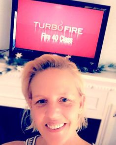 Day 1/90 Turbofire  HIIT(high intensity interval training) program.  After completing Core de Force a week ago  I decided this was the next program for me to try.  I had done a few of the workouts when I needed a good cardio session(thanks #bod) so I kind of know what I'm in for .. but it's time to kick it in to high gear - summer bodies  are made in the winter  and this girl has goals and a cute  to wear   #summerbodiesaremadeinthewinter #turbofire #hiit