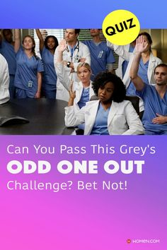 """This quiz will test your knowledge on how well you know the """"Odd One Out"""" for Grey's Anatomy trivia. #greys #shondaland #greysLove #greysrandomQuiz #greysFan #meredithgrey #shonda #GreysAnatomy #greysquiz #greysnostalgia #greysAnatomyTrivia"""