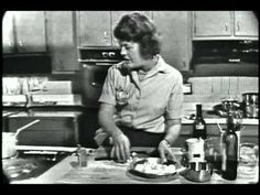 """Julia Child in the first episode of """"The French Chef"""": Boeuf Bourguinon.  I have always wanted to make this!"""