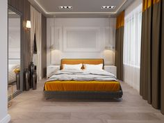 Дизайн квартиры 58 кв.м., ЖК «Лиственный», стиль ЛОФТ