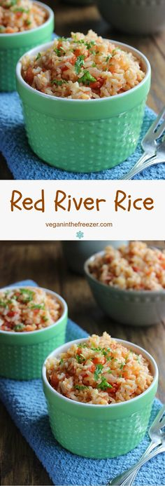 Red River Rice is simple and versatile and something the whole family will enjoy.  After the rice is complete you can even toss in sauteed zucchini. Image