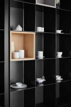 via heavywait - modern design architecture interior design home decor & Bookcase Shelves, Display Shelves, Shelving, Bookcases, Cabinet Furniture, Home Decor Furniture, Furniture Design, Cat Furniture, Shelf Design