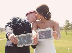 Amanda Abraham Photography Inc. Creative Wedding Photography | Amanda Abraham Photography Creative Prop Wedding Chalkboard Saying Bride and Groom Detail Shot