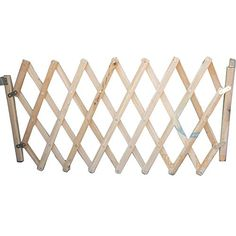 Feature: Perfect for doorways and staircases. Keeping safe for your baby from the pets. This can be treated as a pet gate baby gate. Easy install. Material: Wood. As this is made from wood not metal...