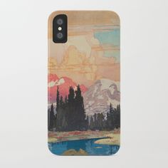 Storms Over Keiisino Iphone Skin by Kijiermono - iPhone Iphone Cases, Illustration, Artwork, Storms, Casetify, Profile, Plastic, Slim, Modern
